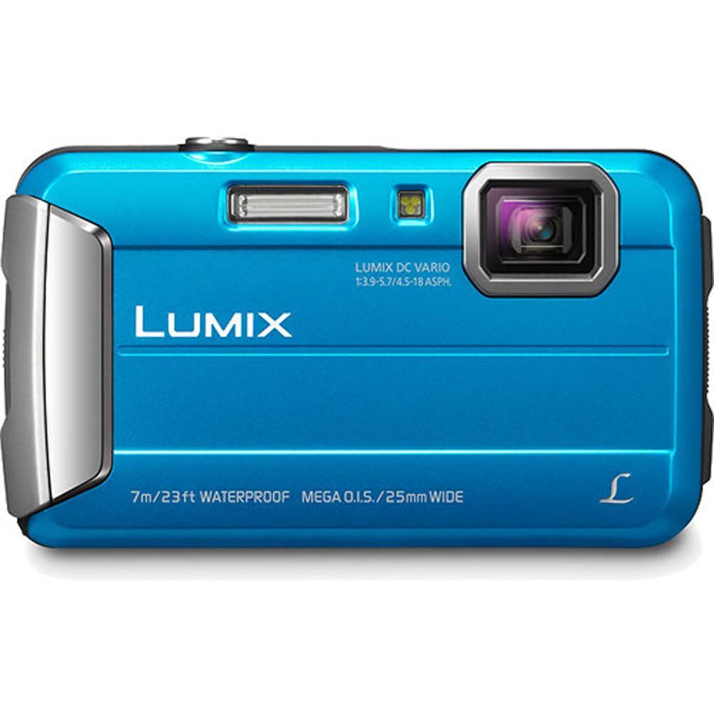Panasonic Lumix DMC-TS25 Digital Camera (Blue) (Open Box)