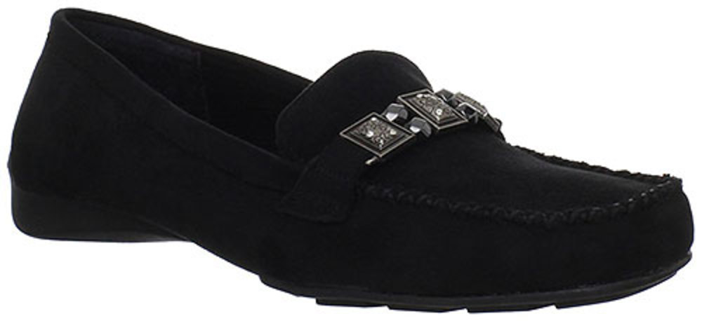 Bella Vita Women Valore 2 Monk Strap Loafers by Easy Street Shoes