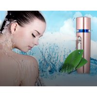 Newest Nano Sprayer Power Bank Facial Steamer Face Beauty Spray with USB Rechargeable For Mobile (Pink)
