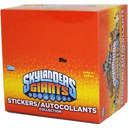 Skylanders Giants Sticker Box