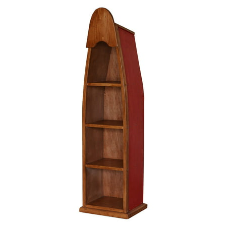 2 day designs small canoe bookshelf walmart com