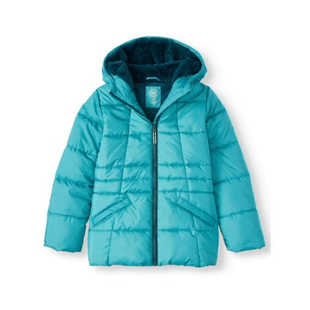 Quilted Bubble Jacket (Little Girls, Big Girls &