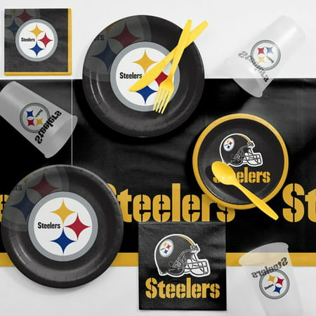 Pittsburgh Steelers Game Day Party Supplies Kit - Steelers Party Favors
