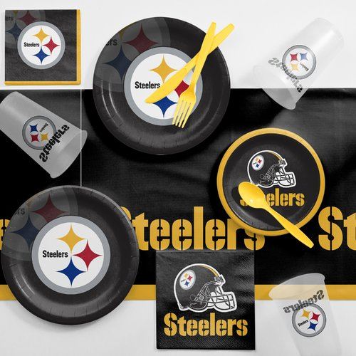 Pittsburgh Steelers Game Day Party Supplies Kit
