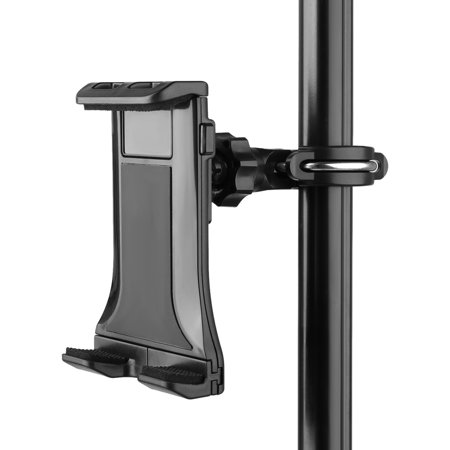 Stand Tablet Holder, Multifunction Music/Microphone Tablet Holder Phone Cradle Mount for Apple iPhone iPad, Google Nexus, Galaxy Tab and Any Other 4-12.5inch Smartphones & Tablets (Tablet Holder Microphone)
