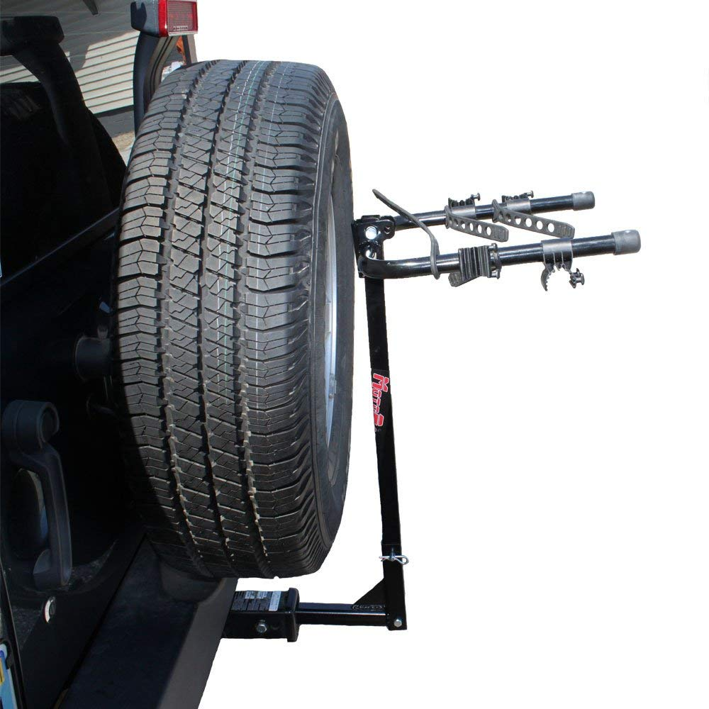 "Kage Racing BK2 Two-Bike Rack Carrier for 1-1/4 and 2"" Hitch"