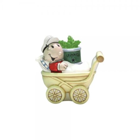 Westland Giftware Popeye Magnetic Sweet Pea and Stroller Salt and Pepper Shaker Set, - Sweet Pea Popeye
