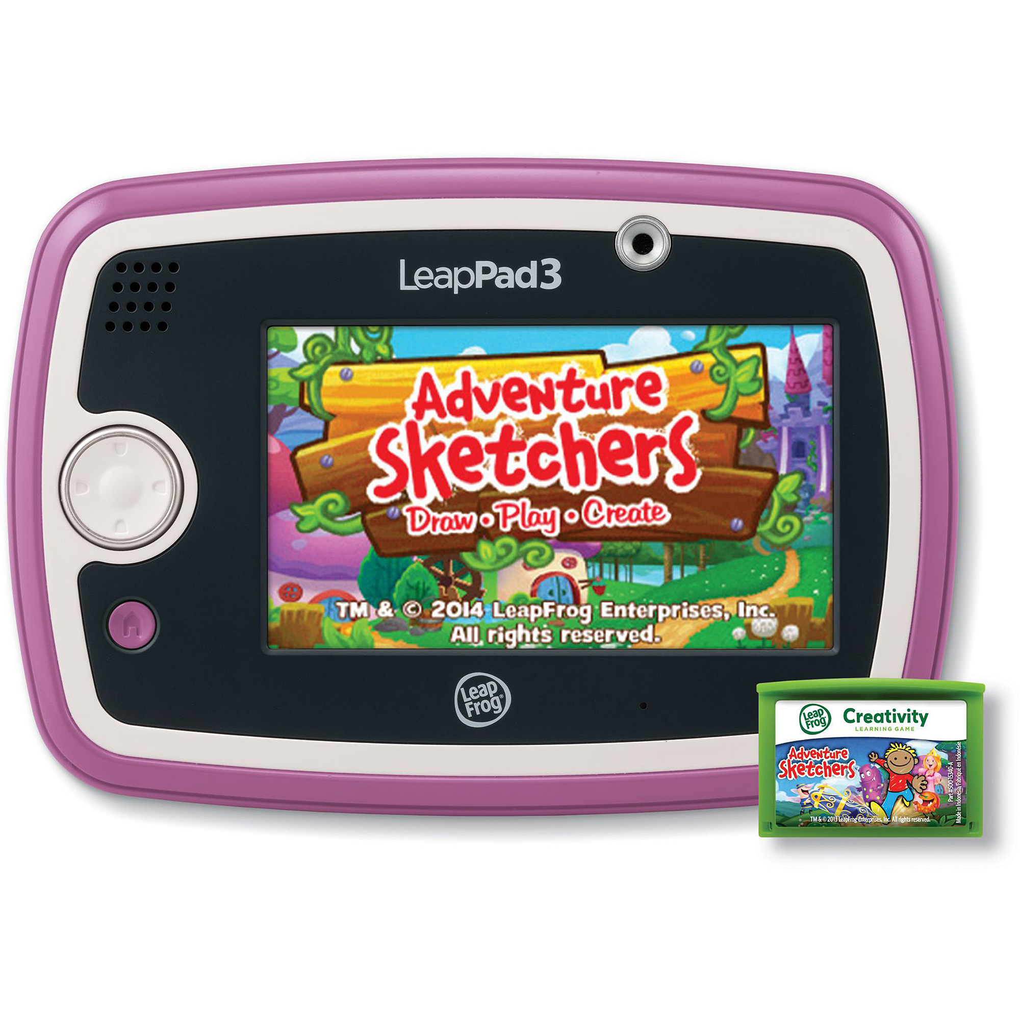 LeapFrog LeapPad3 Kids Learning Tablet with Wi Fi Green or Pink