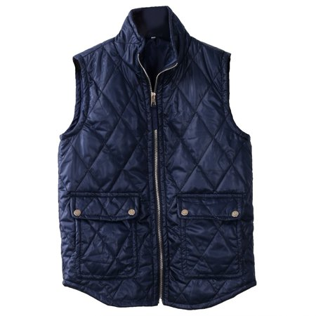 Women Winter Slim Fleece Warm Parka Trench Coat Sleeveless Jacket Vest Waistcoat (Steampunk Vest Womens)