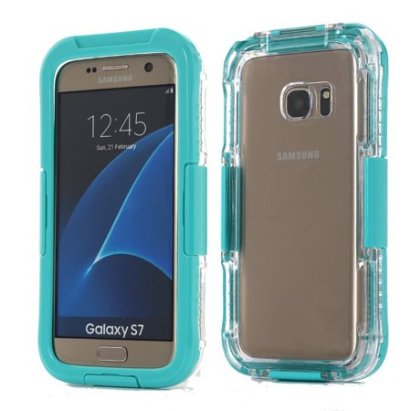 Galaxy S7 Case Waterproof Shockproof Dirt / Snow Proof Hard Case for -