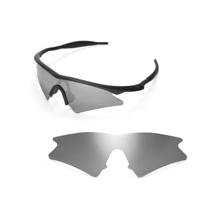 Walleva Titanium Polarized Replacement Lenses For Oakley M Frame ...