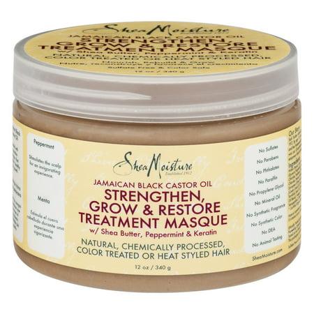 Shea Moisture Strengthen Grow   Restore Treatment Masque Jamaican Black Castor Oil  12 0 Oz