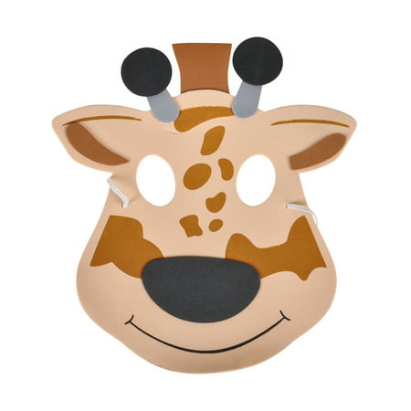 New Halloween Costume Party Foam Zoo Animal Giraffe Mask](Best Halloween Parties In New York)
