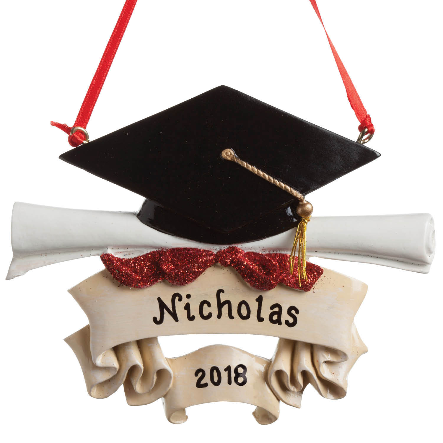 Personalized Christmas Ornament - Congrats Grad