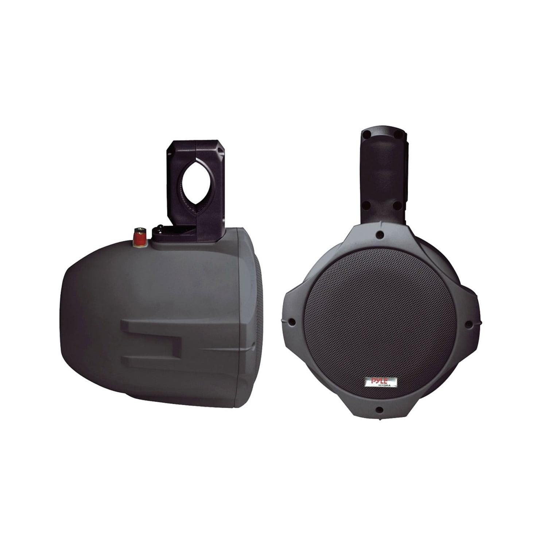 Pyle 8-Inch 300-Watt 2-Way Wakeboard Speakers (Black) by Pyle