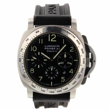 Pre-Owned Panerai Luminor PAM00236 Steel  Watch (Certified Authentic & Warranty)