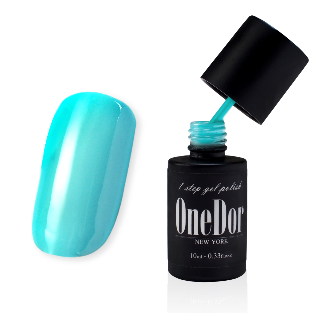 OneDor® One Step Gel Polish UV Led Cured Required Soak Off Nail Polish No Base or Top Coat Nail Need