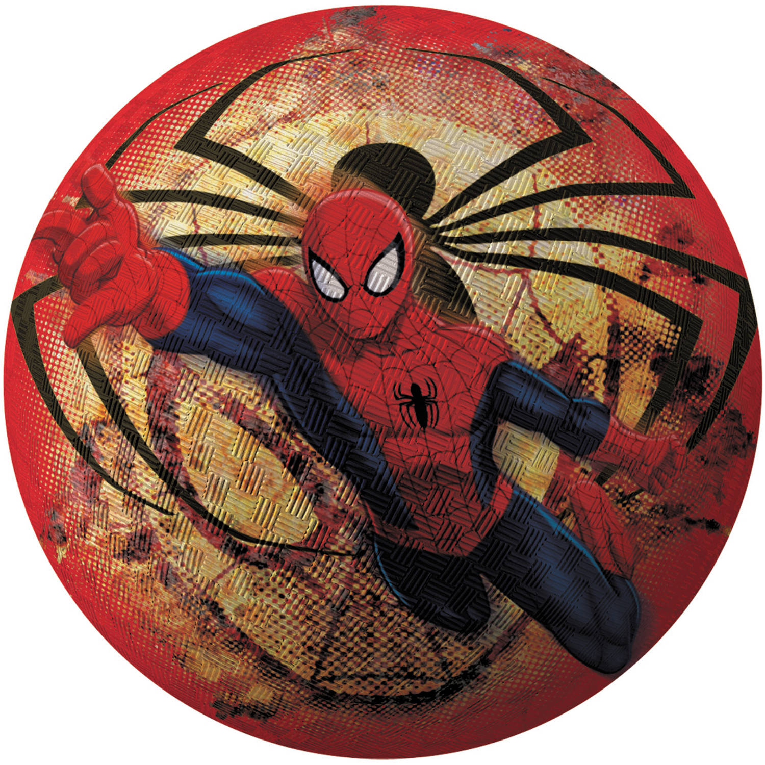 Hedstrom - 8.5 Inch Ultimate Spiderman Rubber Playground Ball