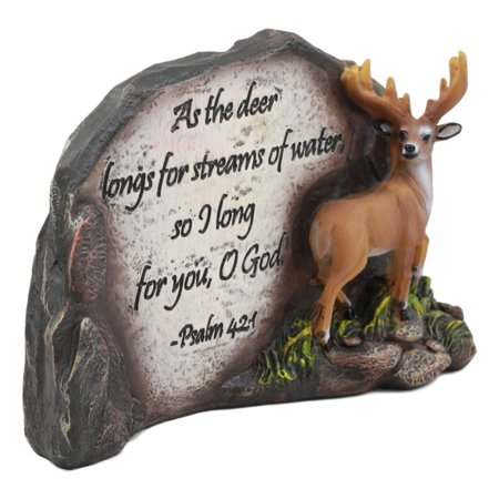 Ebros Inspirational Wildlife Buck Mule Deer by Rocky Lagoon Figurine 7