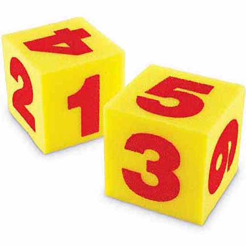 Learning Resources Giant Soft Cubes, Set of 3