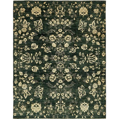 Isabelline One Of A Kind Huntingdon Hand Knotted 6 4 X 8 3 Wool