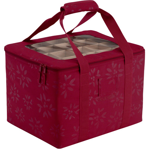 Classic Accessories Christmas Ornament Organizer and Storage Bin