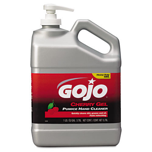 Gojo Cherry Gel Pumice Hand Cleaner - 1 Gallon