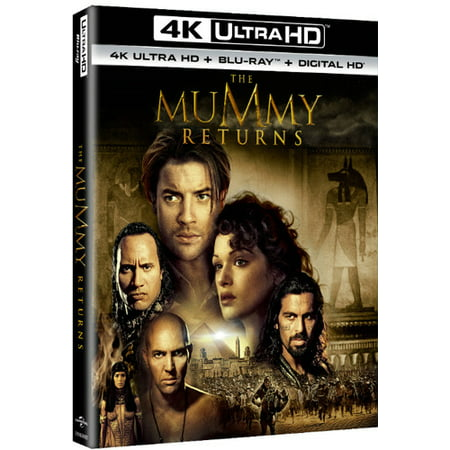 The Mummy Returns  4K Ultra Hd   Blu Ray