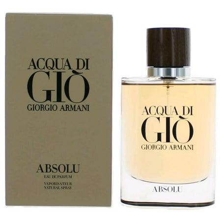 Acqua Di Gio Absolu By Giorgio Armani Eau De Parfum Spray 2.5 oz - image 2 of 2