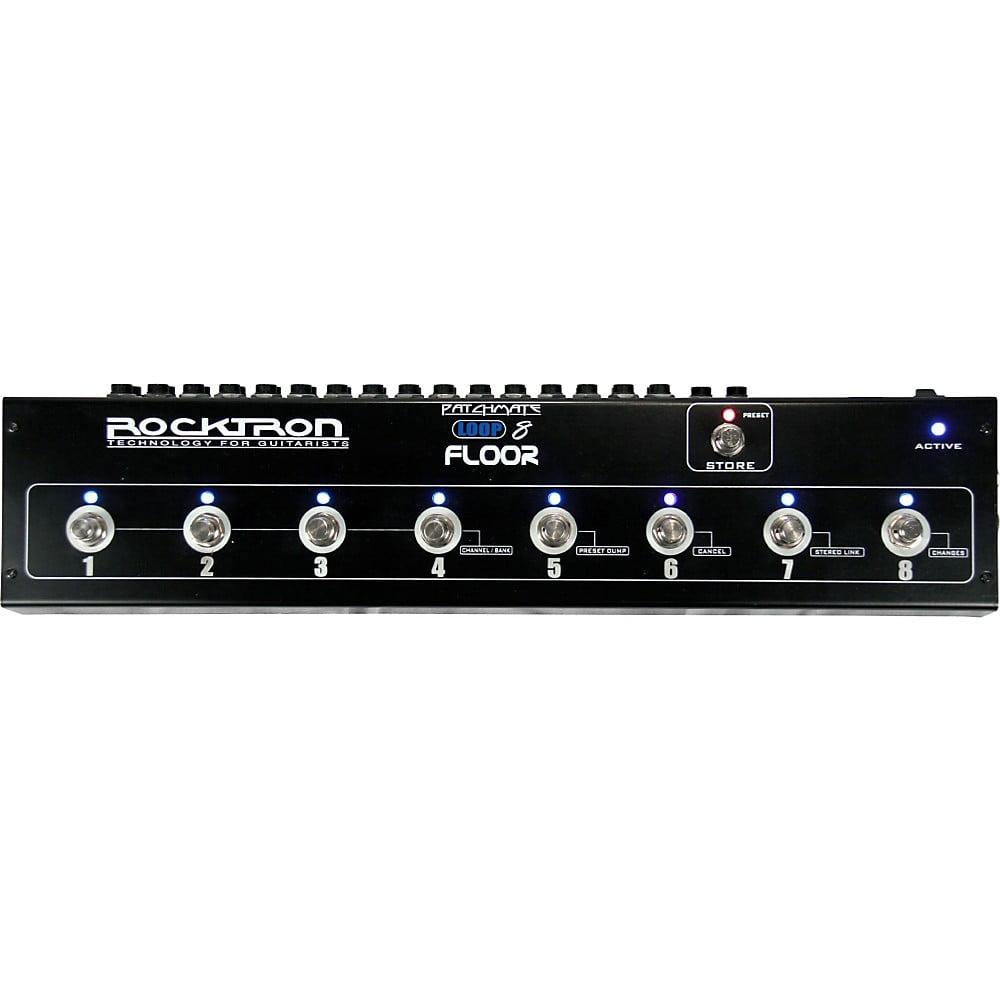 Rocktron PatchMate Loop 8 Guitar Floor Audio Switcher by Rocktron