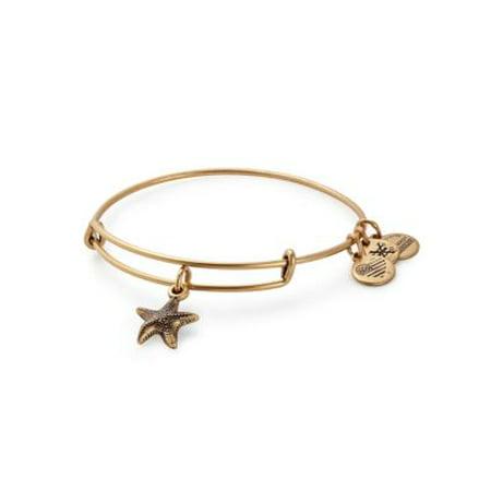 (Alex and Ani Starfish II Necklace Bangle Bracelet)