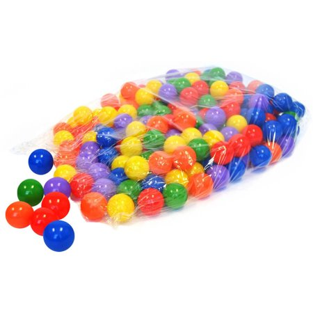 Non-Toxic 200 Wonder Playball 'Phthalate Free' Crush Proof 6.5cm Pit Balls (Phthalate Free Balls)
