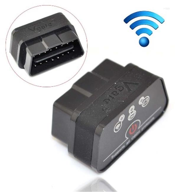 IKKEGOL 10308BB Vgate iCar 2 Mini OBD2 OBD II WiFi Car Diagnostic Scan Tool, Black & Black