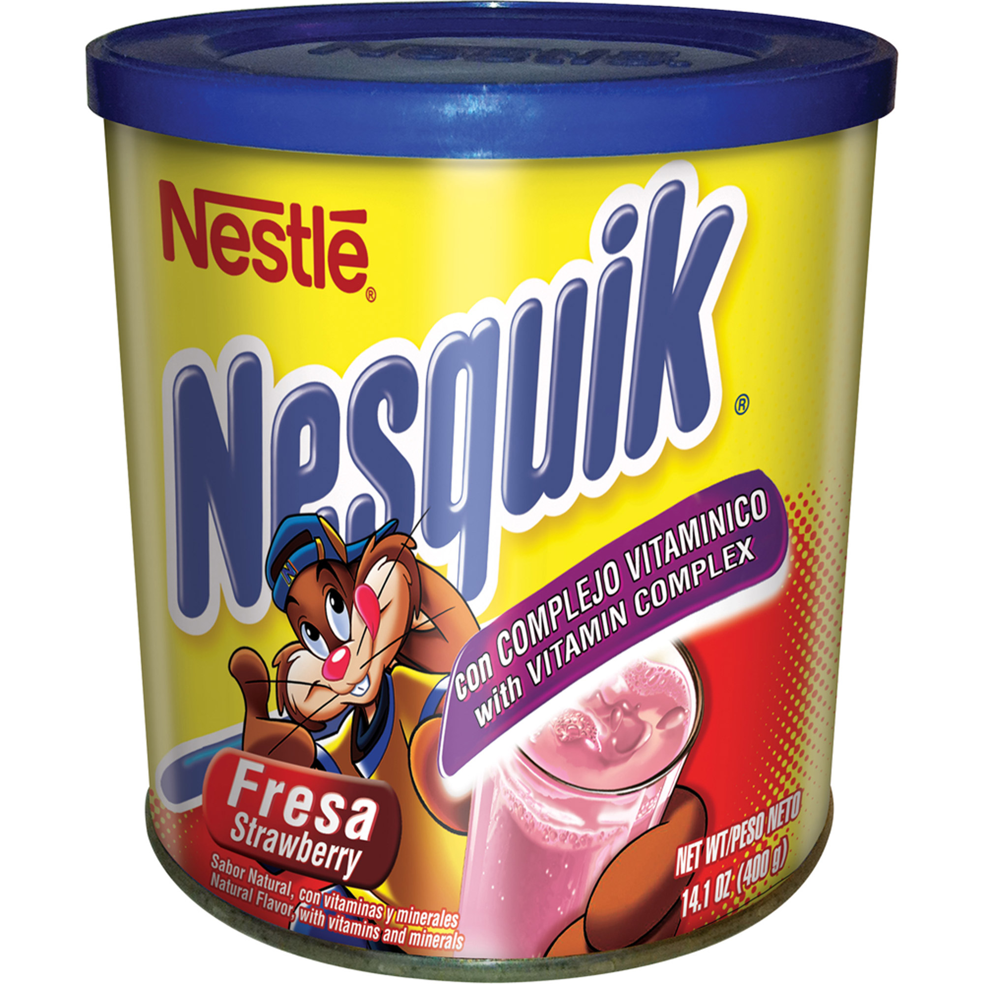Nesquik Strawberry Flavor 14.1 oz. Canister
