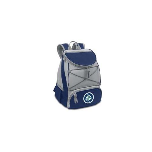 Picnic Time PT-633-00-138-254-3 Seattle Mariners PTX Backpack Cooler in Navy