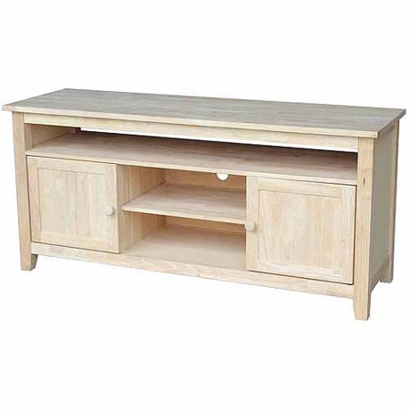 International Concepts Tv 51 Tv Stand With 2 Doors  Ready To Finish