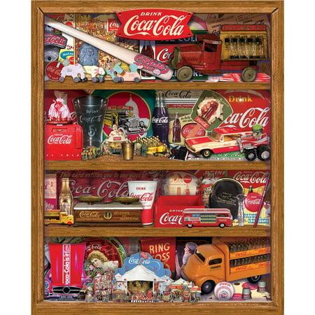 Springbok Coca-Cola: A Collection 500-Piece Jigsaw Puzzle (Coca Cola Puzzle 500 Piece)
