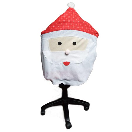 Holiday Santa Chair Cover
