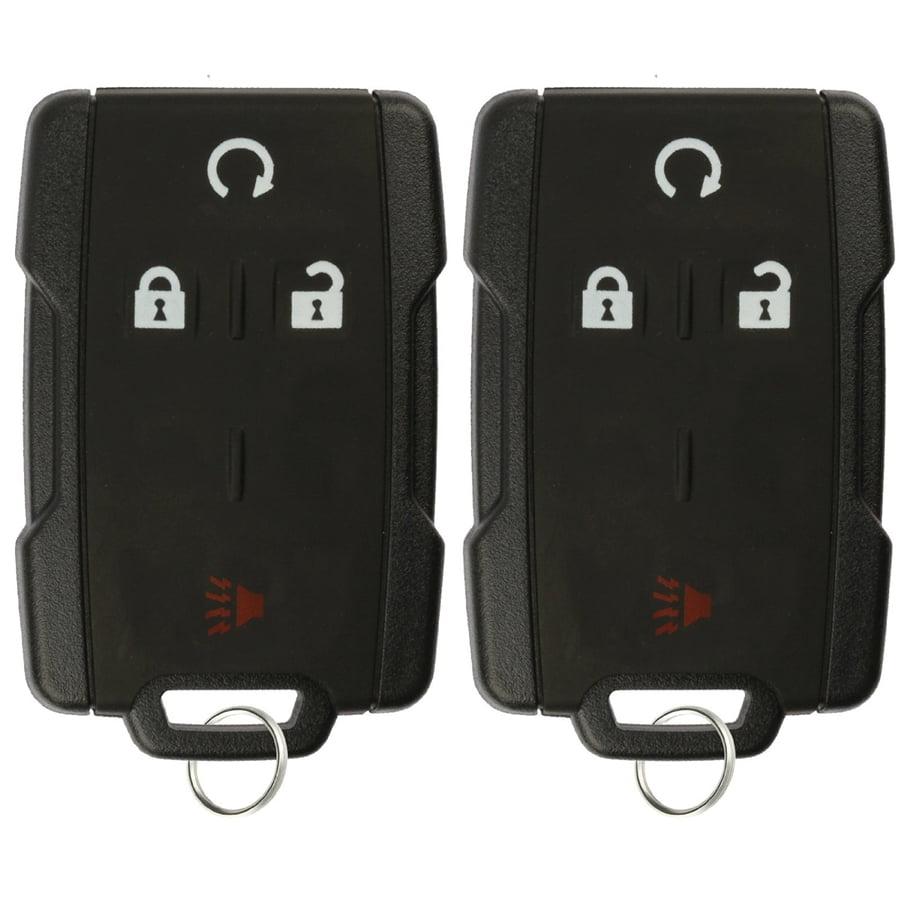 Cadillac Car Key Fob Keyless Entry Remote fits Chevy GMC Buick Saturn Set of 2