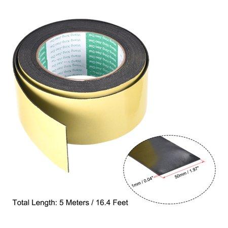 Joint mousse ruban 50mm largeur 1mm épaisseur 16.4'' long étanchéité adhésif - image 3 de 4