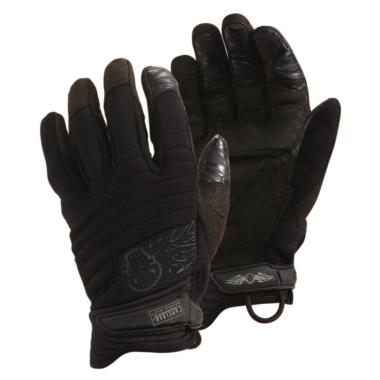 *CamelBak MP2LG05-08 Hi-Tech Impact II CT Gloves Blk Logo S