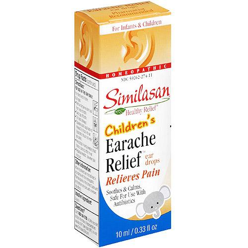 Similasan Healthy Relief Children's Earache Relief Ear Drops, .33 oz