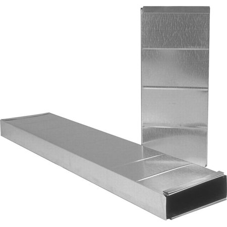 Imperial GV0213 Wall Stack Duct, 24 in L, Galvanized