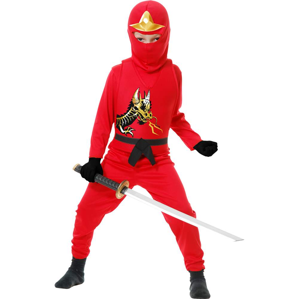 Red Ninja Avenger II Toddler Costume