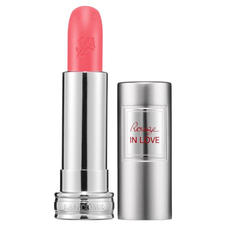 Lancome Rouge In Love High Potency Color Lipstick, #343B Fall In Rose, 0.12 Oz Dr Hauschka Rose Lipstick