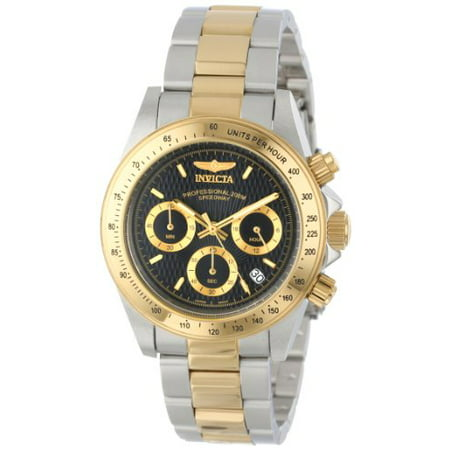 Men's 9224 Speedway Collection Gold-Tone Chronograph S Series Watch - Professional Chronograph Series