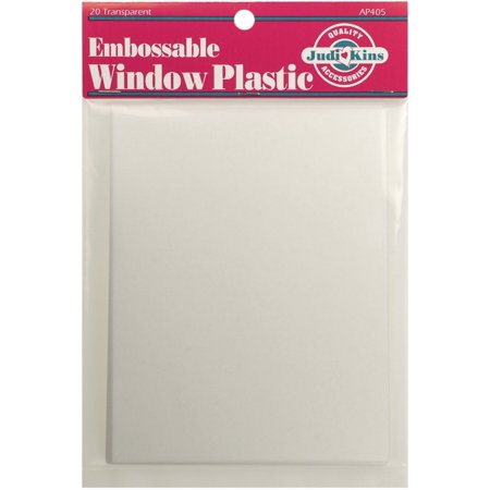 Embossable Window Plastic Sheets 425 Inch X 55 Inch Clear 20
