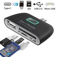 USB C Hub TSV USB C Adapter/Charger to USB 3.1 Type C Hub To HDMI Adapter Charging Connecting USB SD/TF Card Reader For MacBook Pro/Google Pixel Dell XPS13 Nexus 5X HP17 All USB-C Devices to HDTV