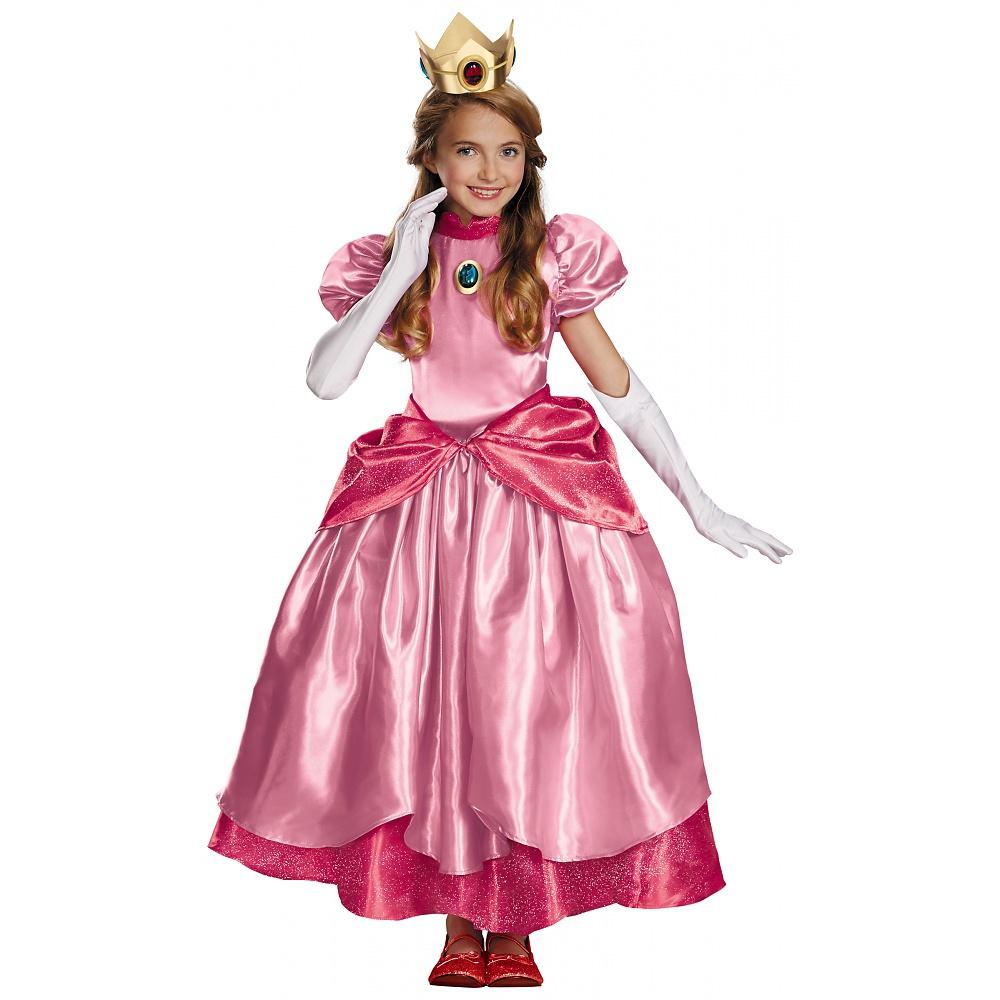 Princess Peach Prestige Child Costume Small Walmart Com