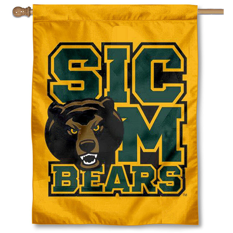 "Baylor BU Bears Sic Em 30"" x 40"" Double Sided House Flag"
